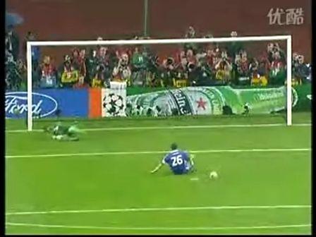08年欧冠决赛点球大战特里与阿内尔卡罚失点球的真相图片