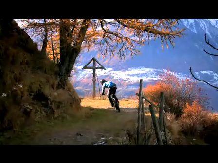 山地自行车的风景[唯美]