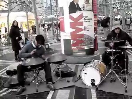 国外街头艺人表演,比什么达人强多了【希望没