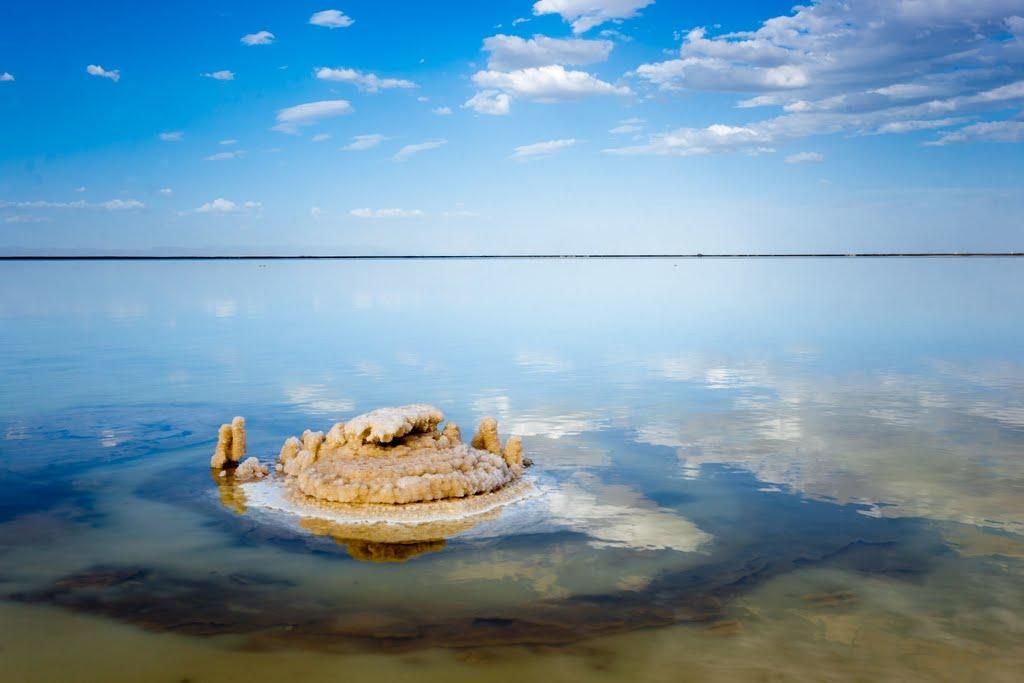 中国  青海省 海西蒙古族藏族自治州 察尔汗盐湖