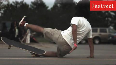 instreet滑板 失败动作慢镜头集锦
