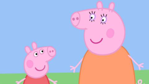 【小猪佩奇】粉红小猪 猪爸爸带着猪小弟猪小妹清理洗手间【小宗解说