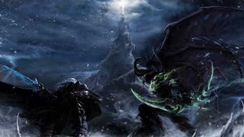 魔兽世界cg 魔兽争霸