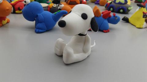 史努比小狗可爱玩具制作教程