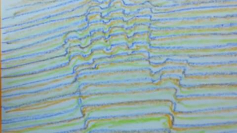 手绘3d立体画 绘画教程