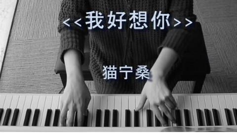 【钢琴】小时代主题曲《我好想你》苏打绿 【猫宁桑出品】