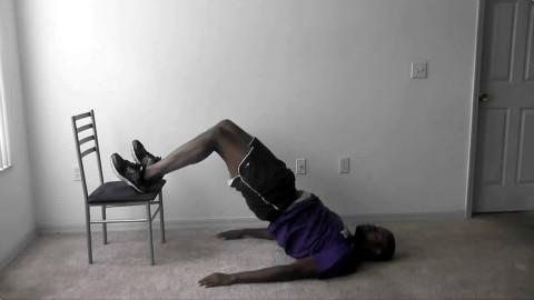在家也能进行篮球训练!腿部力量训练 - AcFun弹
