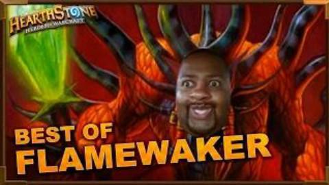【炉石传说】搞笑幸运玩法-最佳flamewaker