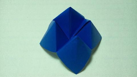 【折纸】童年之东西南北(算命)