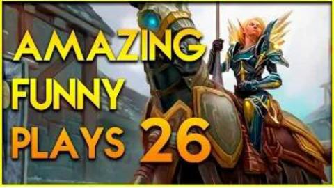 【炉石传说】搞笑幸运时刻-不可思议的玩法 #26