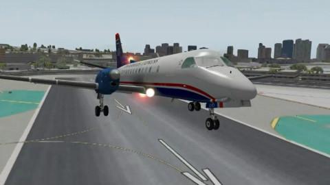 每架降落的飞机都会从这个停车场正头顶上划过