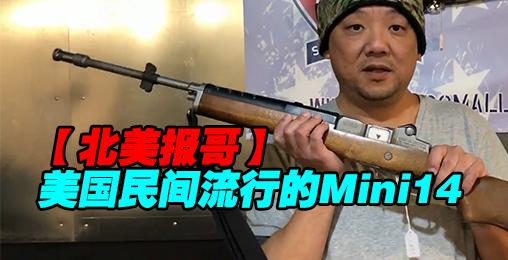 【北美报哥】美国民间流行的Mini14